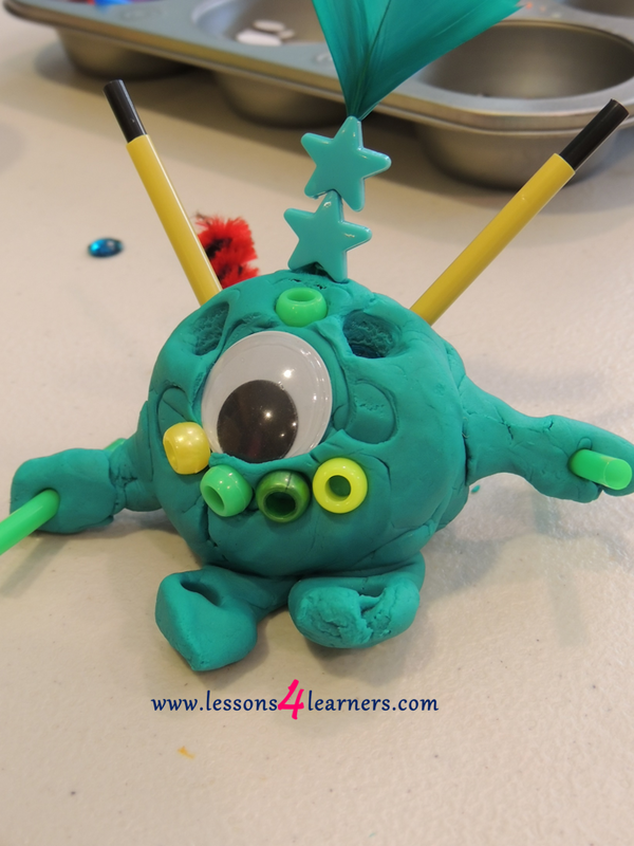 Monster Playdough