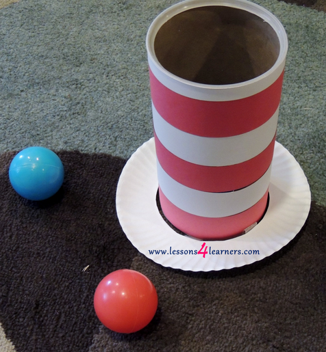 Cat in the Hat Ball Toss