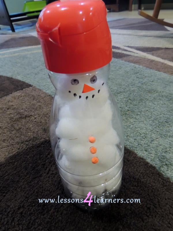 Let's Build a Snowman: Fine Motor Development