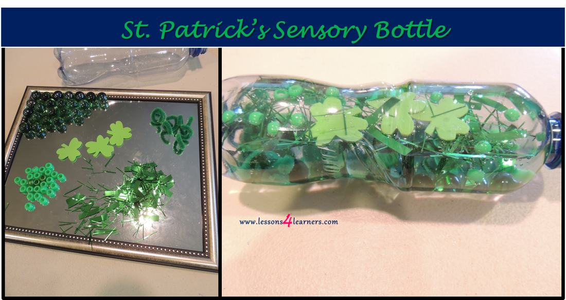 St. Patrick's Sensory Bottle