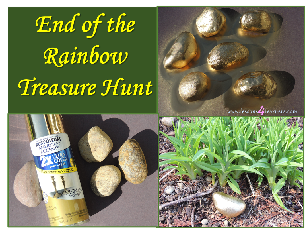 End of the Rainbow Treasure Hunt