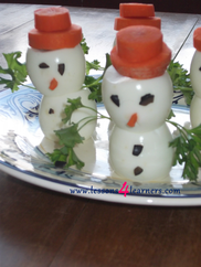 Egg-citing Snowmen