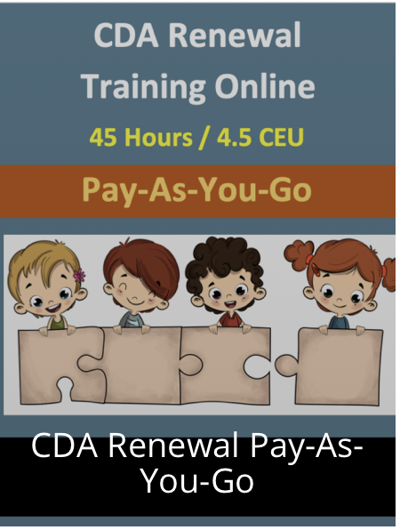Pay As You Go Child Care Courses