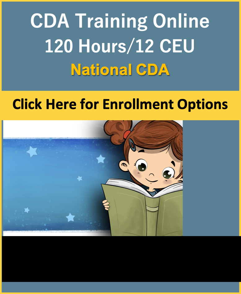 Child Care Courses CDA Training Online