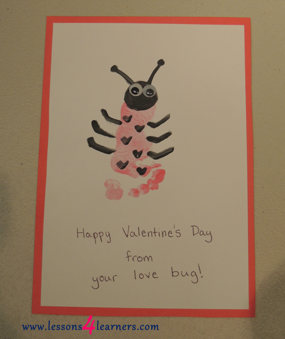 Ladybug Love Reading and Memory Craft
